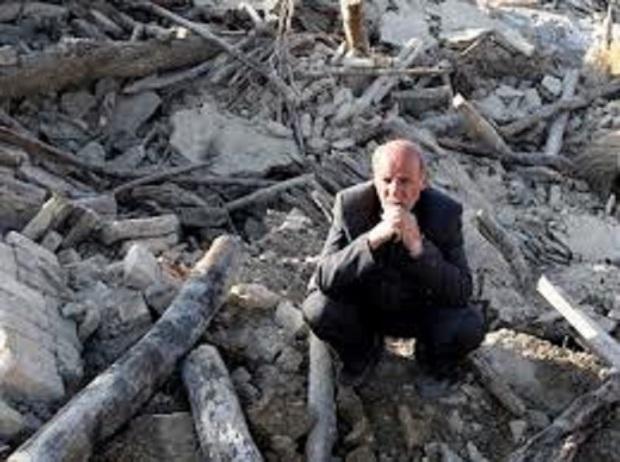 Terremoto de 7,8 graus abala Irã e é sentido em vários países vizinhos  /  Pr.samuel lemos.